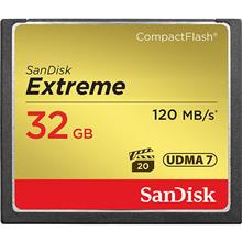 SanDisk CompactFlash Memory Card 800X Extreme 32GB